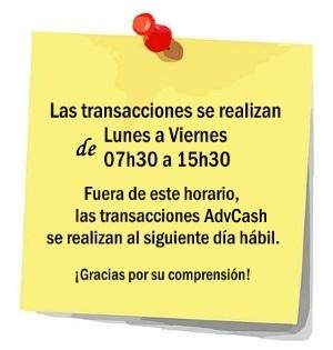 advcash-horario