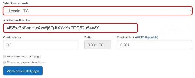 ltc-wallet