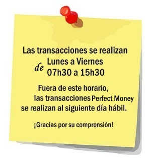 perfect-money-horario